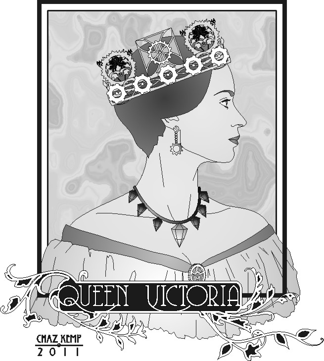 Line Drawing Of Queen Victoria : Chaz nouveau