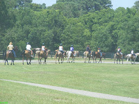 Horseback riding at Sea Pines Resort