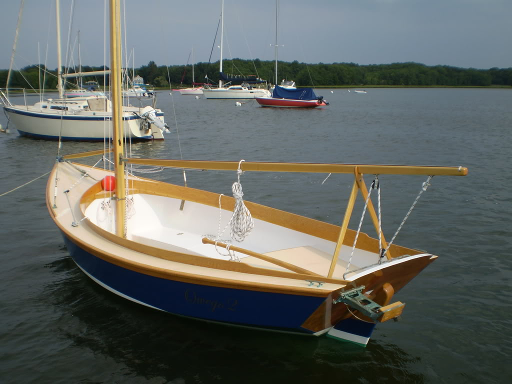 Page Three Boat Pictures: gmschwab's Bolger plywood 125, or 12 1/2