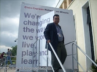photo of my visits at Cisco Express - Network on Wheels -exit