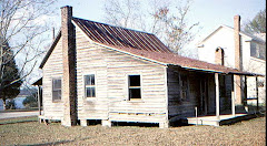 Carrow House in Bath NC before restoration