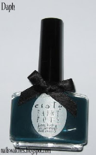 ciaté superficial teal creme nail polish nailswatches