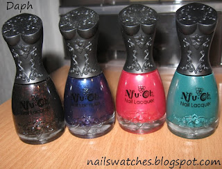 nfu oh 060 118 107 560 60 nail polish boobies korean brand flakies red black blue green jade dusty pink shimmer creme nailswatches