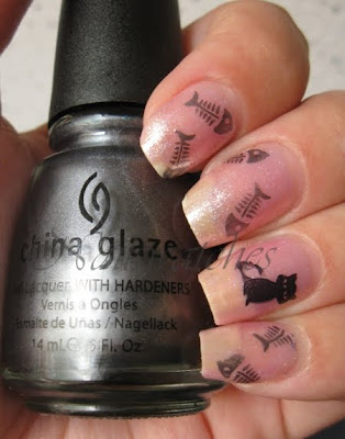 OPI Princesses Rule! Konad China Glaze Awaken Konad Special Polish black pearl Bundle Monster imageplate BM04