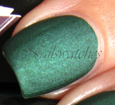 here today aragon tomorrow suede htat green nailpolish nailswatches