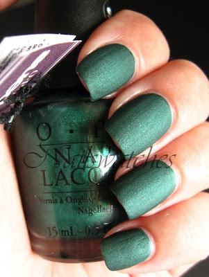 opi here today aragon tomorrow htat suede nailpolish nailswatches