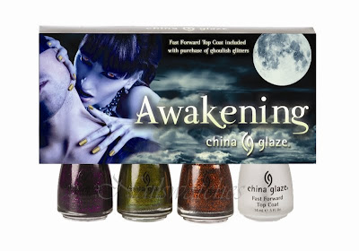china glaze halloween awakening 2010 zombie zest ick-a-body mummy may i
