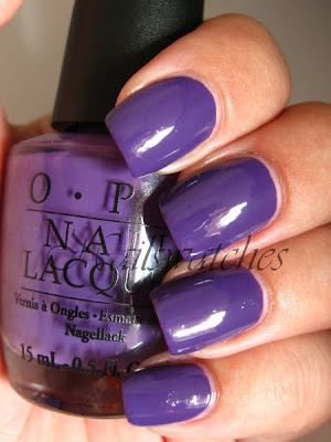 opi shrek collection 2010 funky dunkey purple creme grape nailswatches