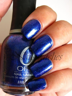 orly cosmic FX cosmix collection for fall winter 2010 glass flecked foil like nailswatches lunar eclipse la girl groupie rockstar dupe blue purple flash nails