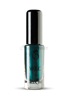 wic by herome world inspired colors canada collection fall/winter 2010 vancouver green shimmer frost nail polish nailswatches