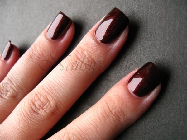 Zoya Kalista  two coats in daylight  Kalista is a gorgeous brown with    Zoya Kalista