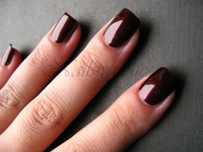 zoya kalista calista brown shimmer polish nailswatches fall color