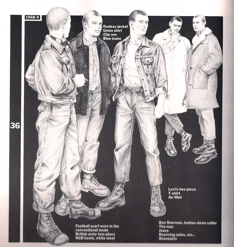 Bad Scene, Everyone's Fault...: Subcultural Foundations: The Skinheads