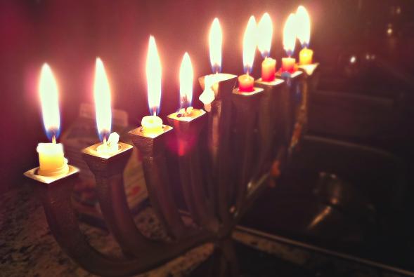last night of hanukkah 2019 - 589×395