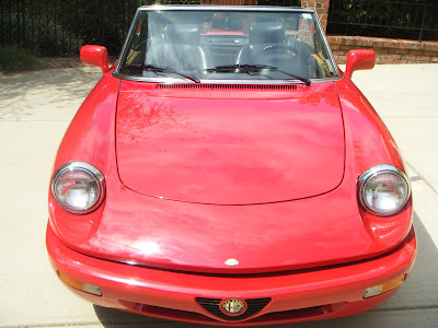 MidAtlantic Alfa Romeo Club FOR SALE Alfa Romeo Spider Veloce - 1994 alfa romeo spider