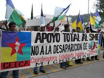 LA CEICA APOYA TOTALMENTE  AL SME . NO A LA PRIVATIZACION DE LA  ENERGIA ELECTRICA