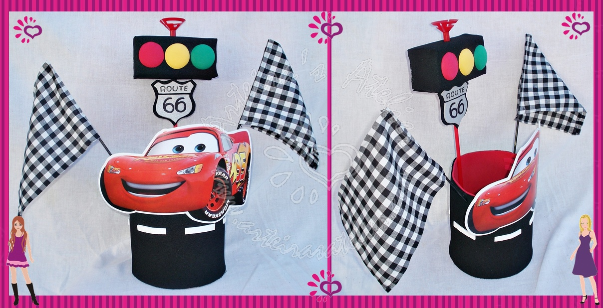 Artesanal Lembrancinhas Festa Cars Disney Graffiti