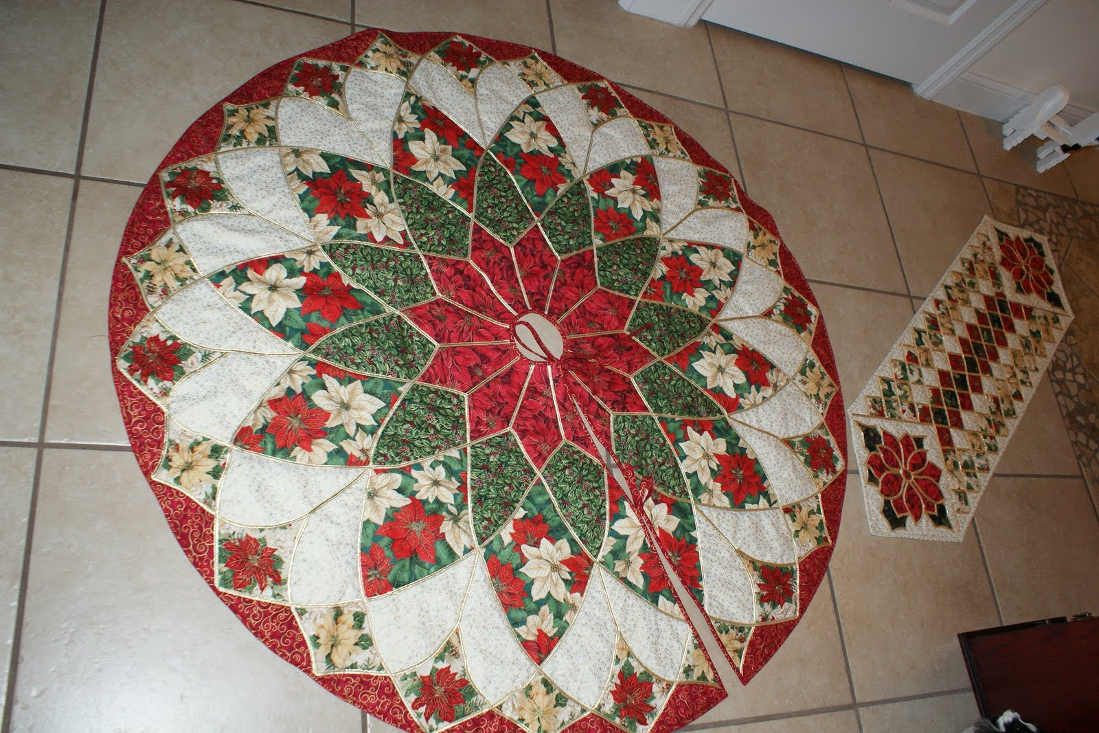 Papillon Pals Christmas Tree Skirt etc.......