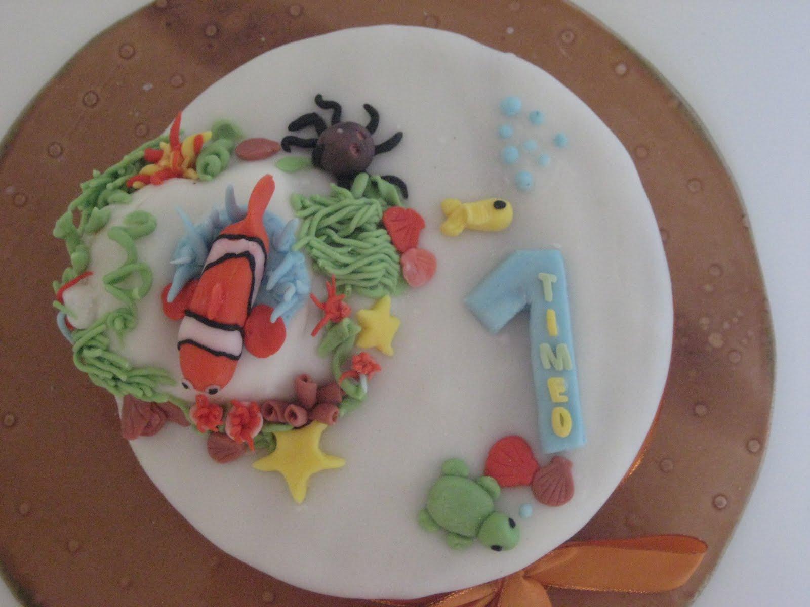 Heavenly Sugary Birthday Cake 1 year old baby boy