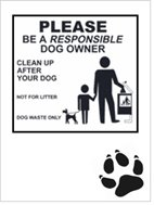 be a responsible owner!