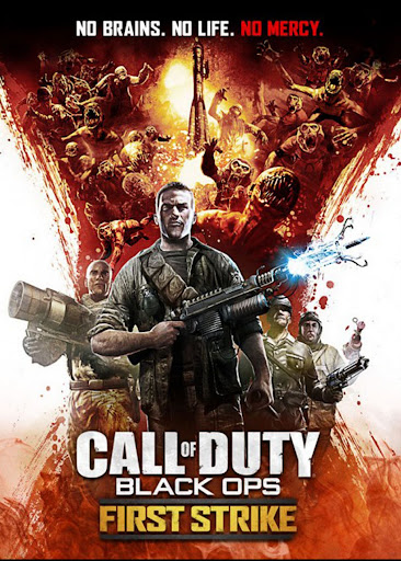 Black Ops First Strike DLC Zombie Ascension Poster. The Ascension map