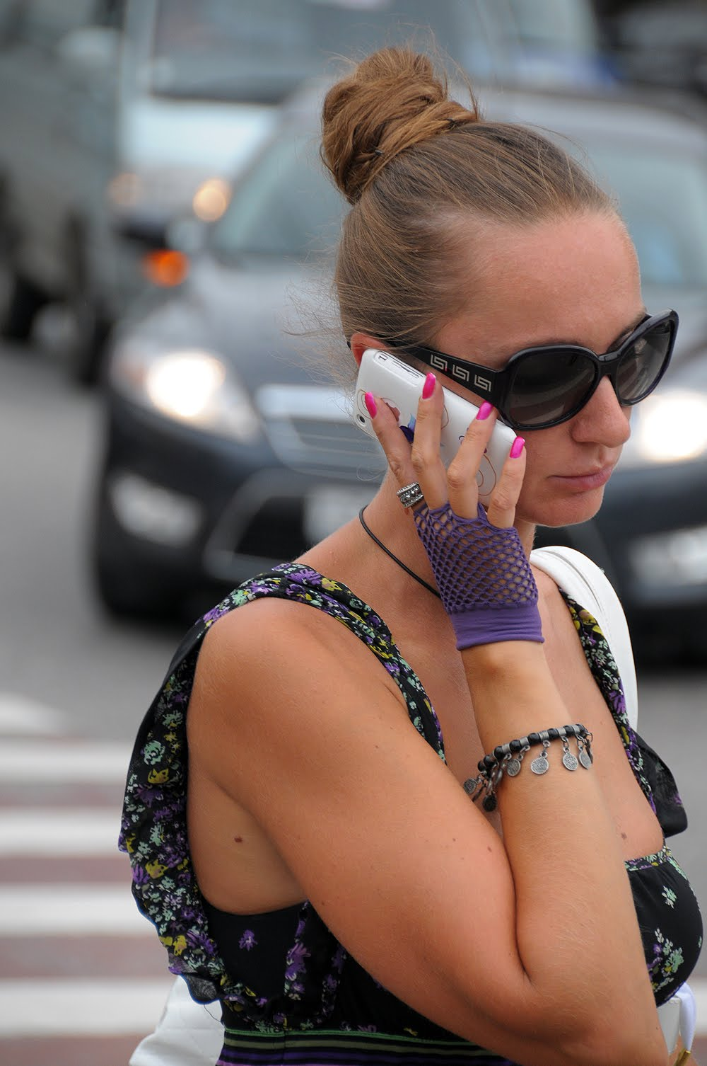 On The Street New Arbat From Russia With Fashion