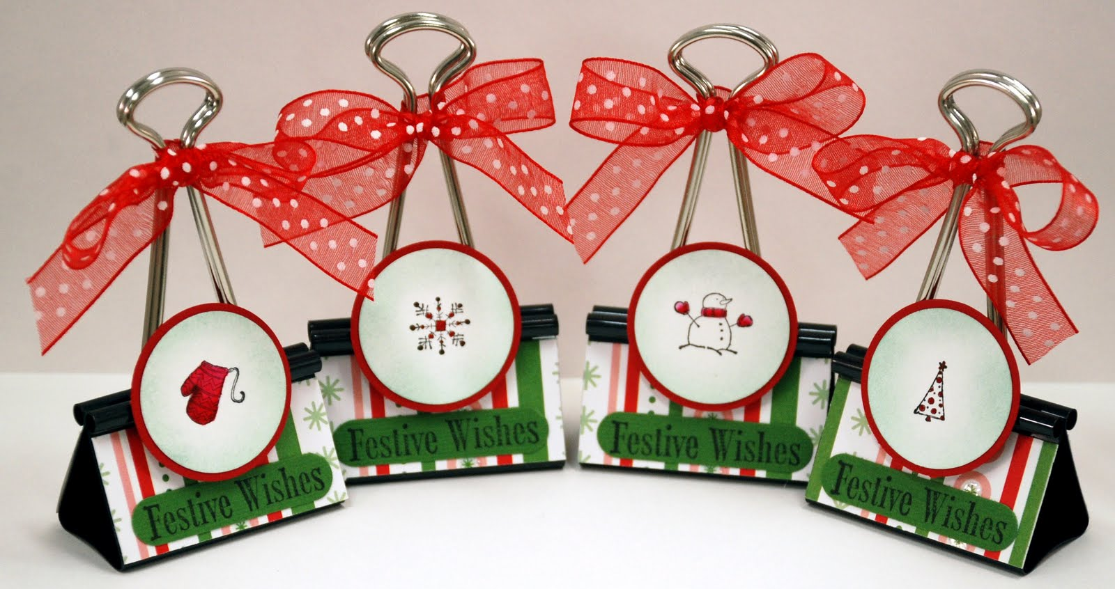 Updates From ParisEstates: Christmas Placecard Holders – Blog Candy #2