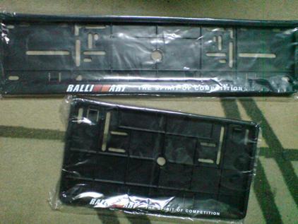 Frame Rally RM 50 sepasang.