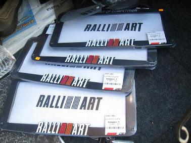 frame ralliart