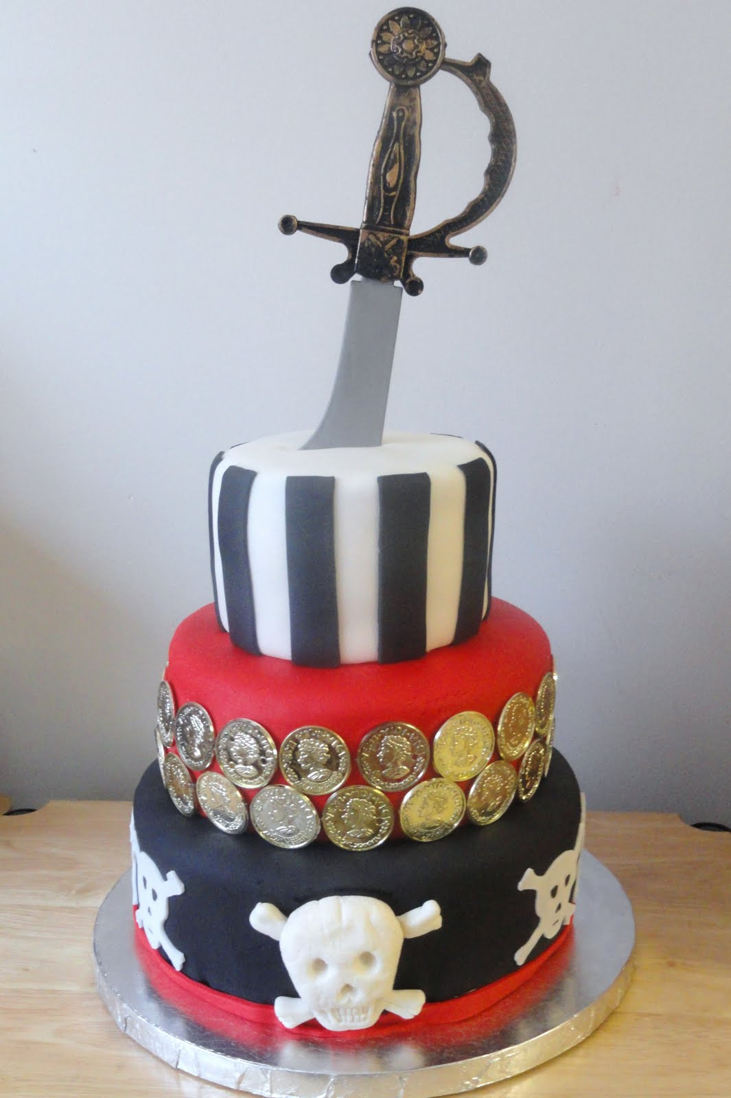 Images Pirate Birthday Cake : Cakes by Lala: Pirate Cake!!