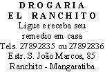 Drogaria El Ranchito