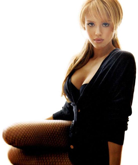 Jessica Alba on Her Sexy Maxim Photo Shoot: I Used to