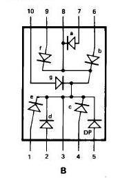 common cathode seven segment to plc
