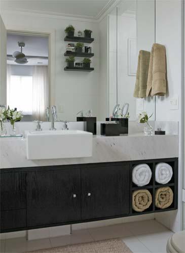 decoracao banheiro acessórios:Ideias De Lavabos