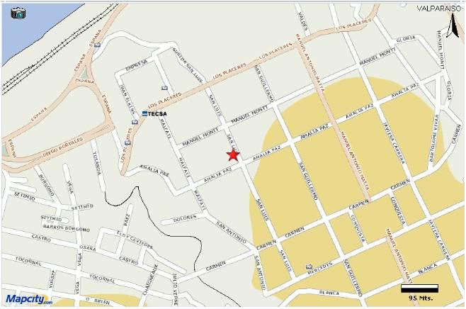 Valpara so ciudad universitaria hospedaje para la for Hospedaje para universitarios
