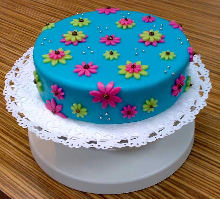 Handmade by Mik  Workshop taart decoreren