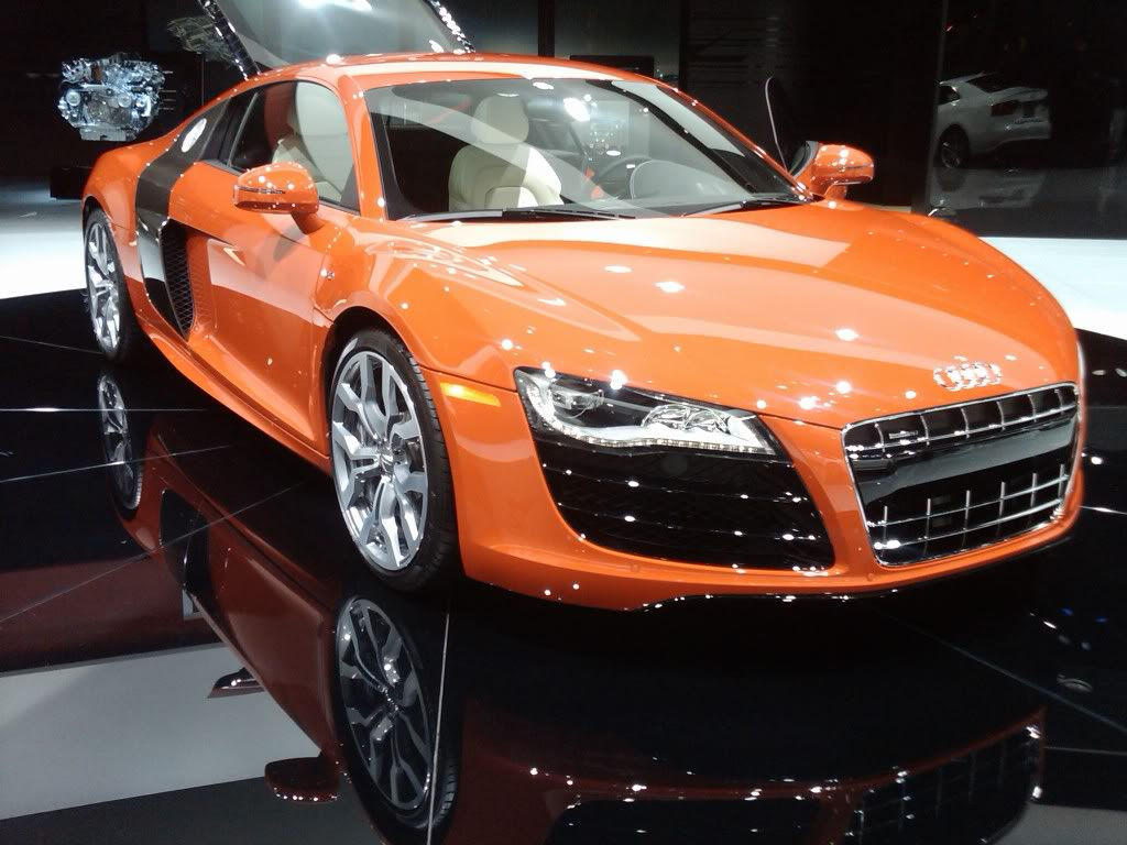 Amazing Automobile 2011 Audi R8 Sports Coupe In India Specs