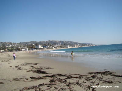 Laguna Main Beach sand view
