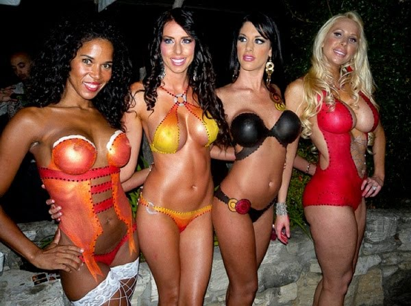 Playboy Party Body Paint
