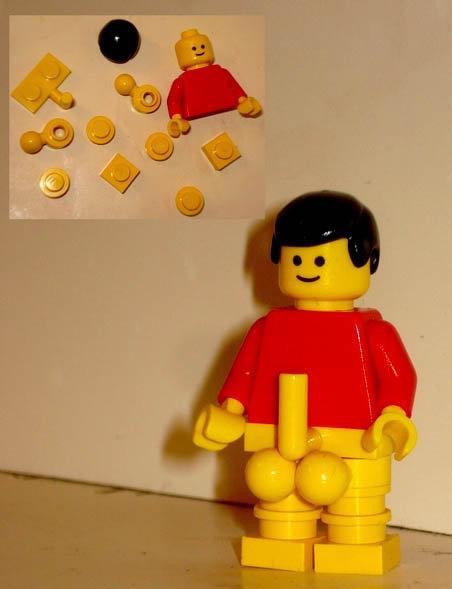 la polla de legos