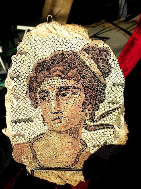 detalle de mosaico
