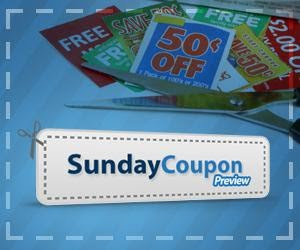Sunday Coupon Preview