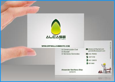 Tarjeta de Presentación ALCASE