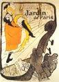 Jane Avril en el Jardín de París (cartel publicitario, 1893) - Henri de Toulouse-Lautrec (29)