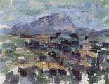 La montaña Sainte-Victoire (1905) - Paul Cézanne (66)
