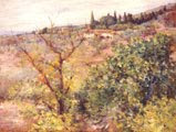 View of Fiesole (1907) - William Merritt Chase (58)