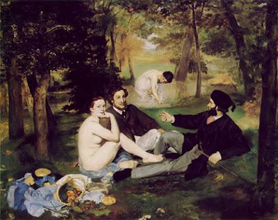 Édouard Manet: Desayuno sobre la hierba