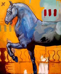 Azul (2010) - obra de Roberto Tostado