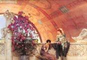 Rivales inconscientes (1893) - Lawrence Alma-Tadema (57 años)