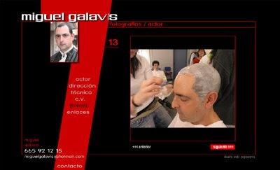 ver web Miguel Galavís